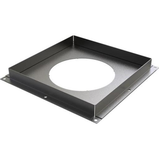 Black TWPro Solid Fire-Stop 150mm